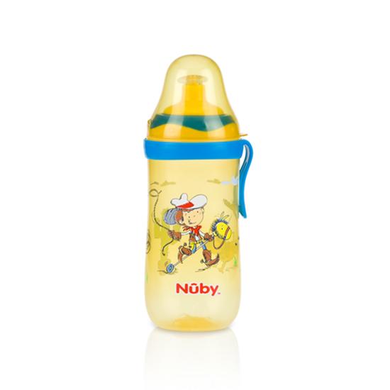 NUBY Vaso con Tapa 360ml