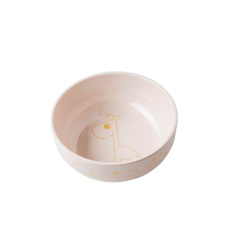 DONE BY DEER Yummy Bowl Animales Rosa
