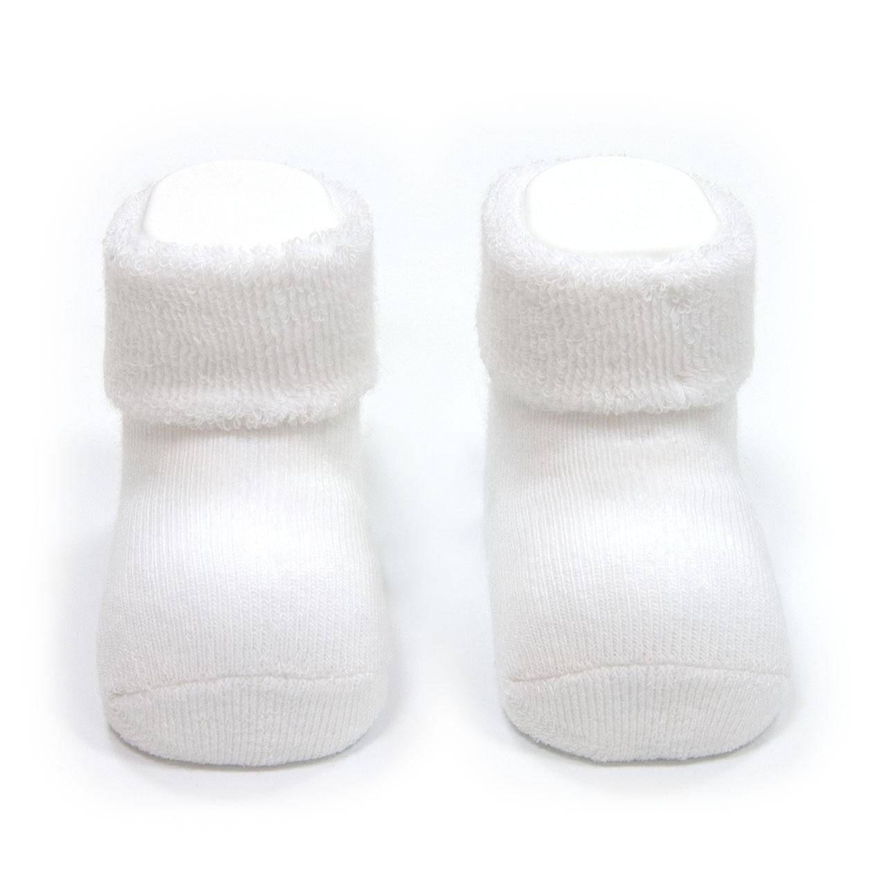 CAMBRASS Medias para bebe liso blanco T.0000 ( 15 - 16)