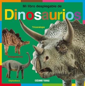 Libro Mi Libro Desplegable Dinosaurios
