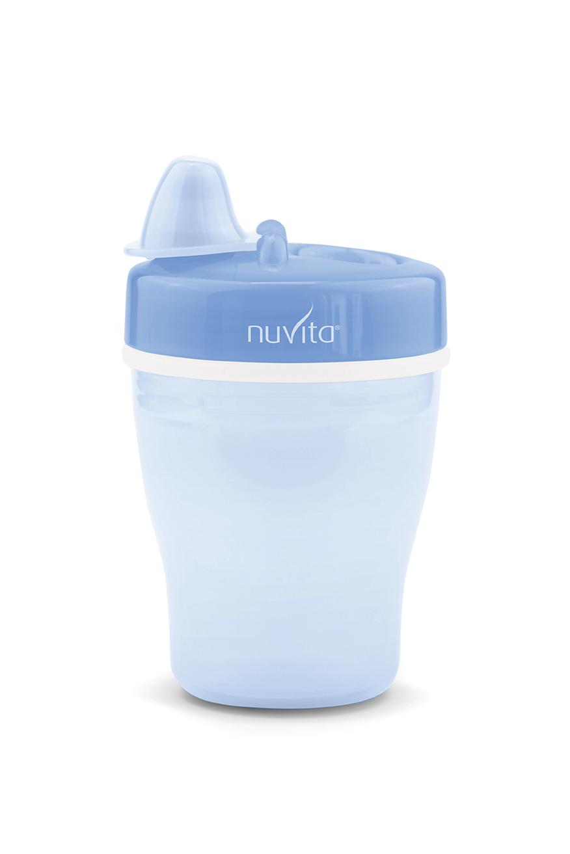 NUVITA Vaso Térmico con Boquilla 12m+ Blue