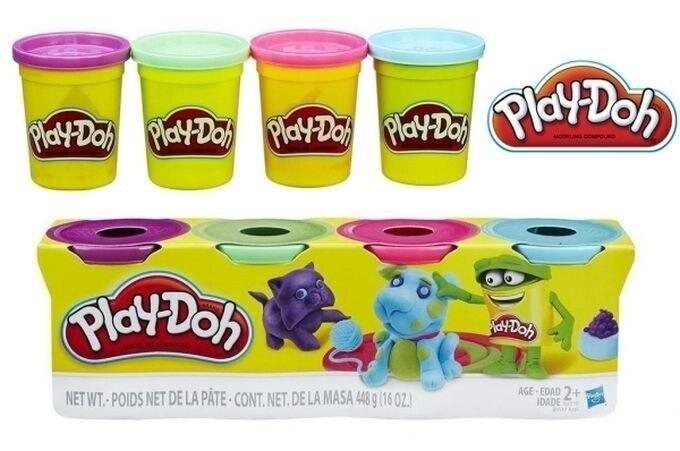 HASBRO Play-Doh 4 paquete esencial de colores