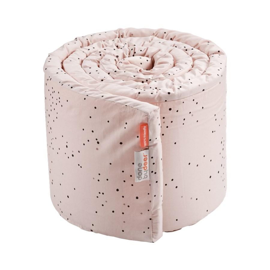 DoneByDeer Bed Bumper Rosa