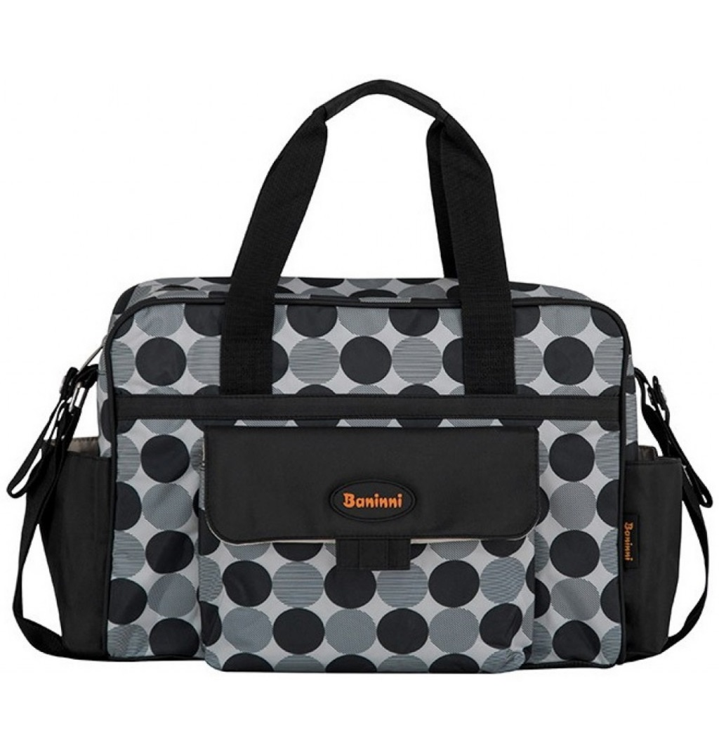 BANINNI Bolso Maternal Black Circle