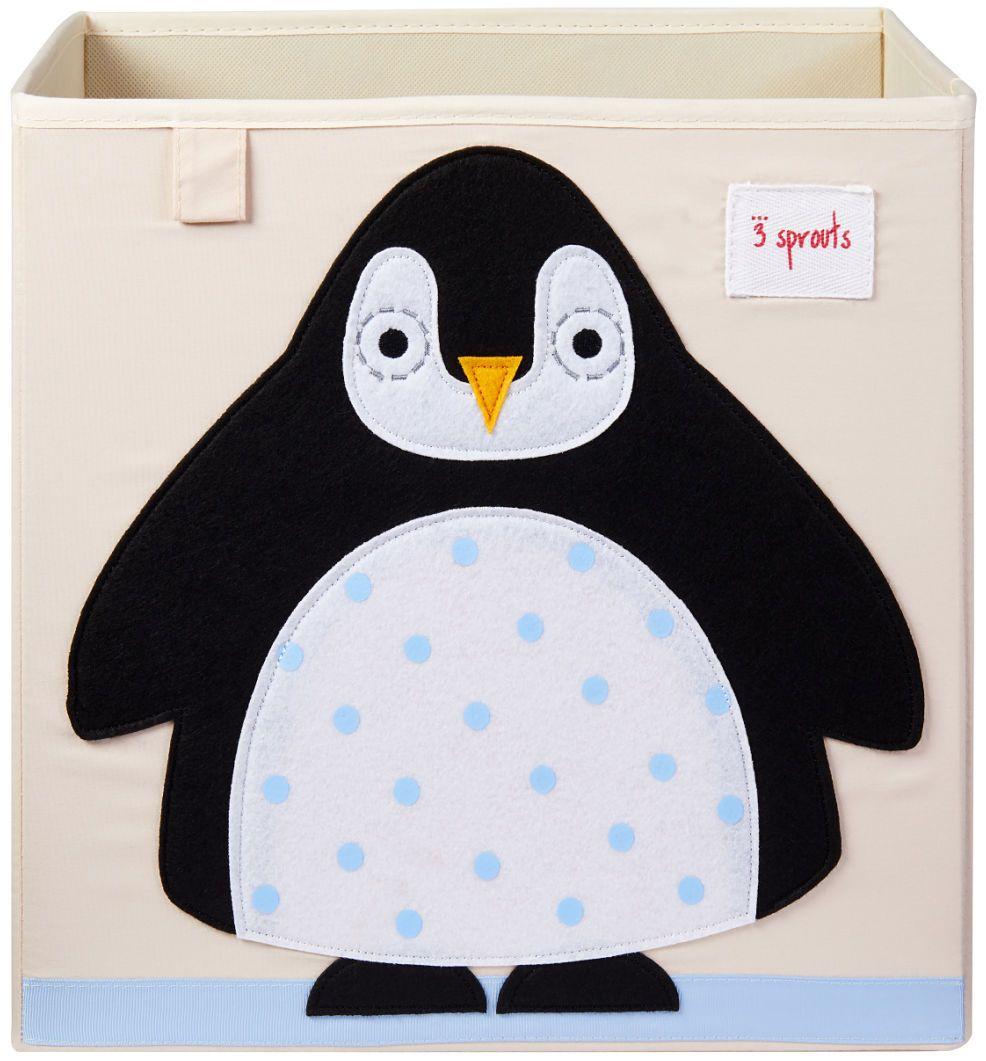 3 SPROUTS Caja Organizadora Pingüino