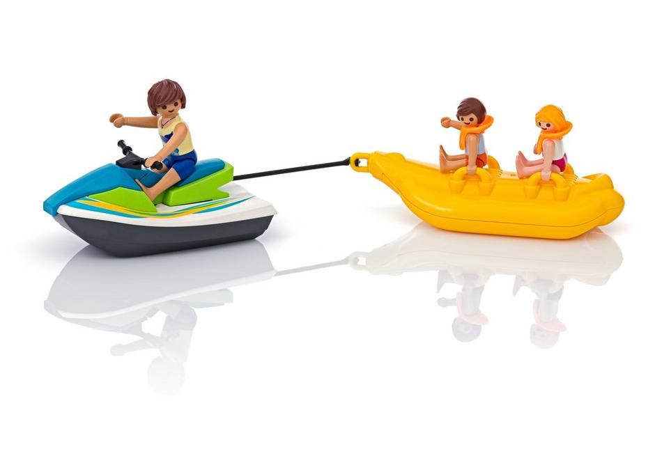 PLAYMOBIL Moto de Agua con Banana