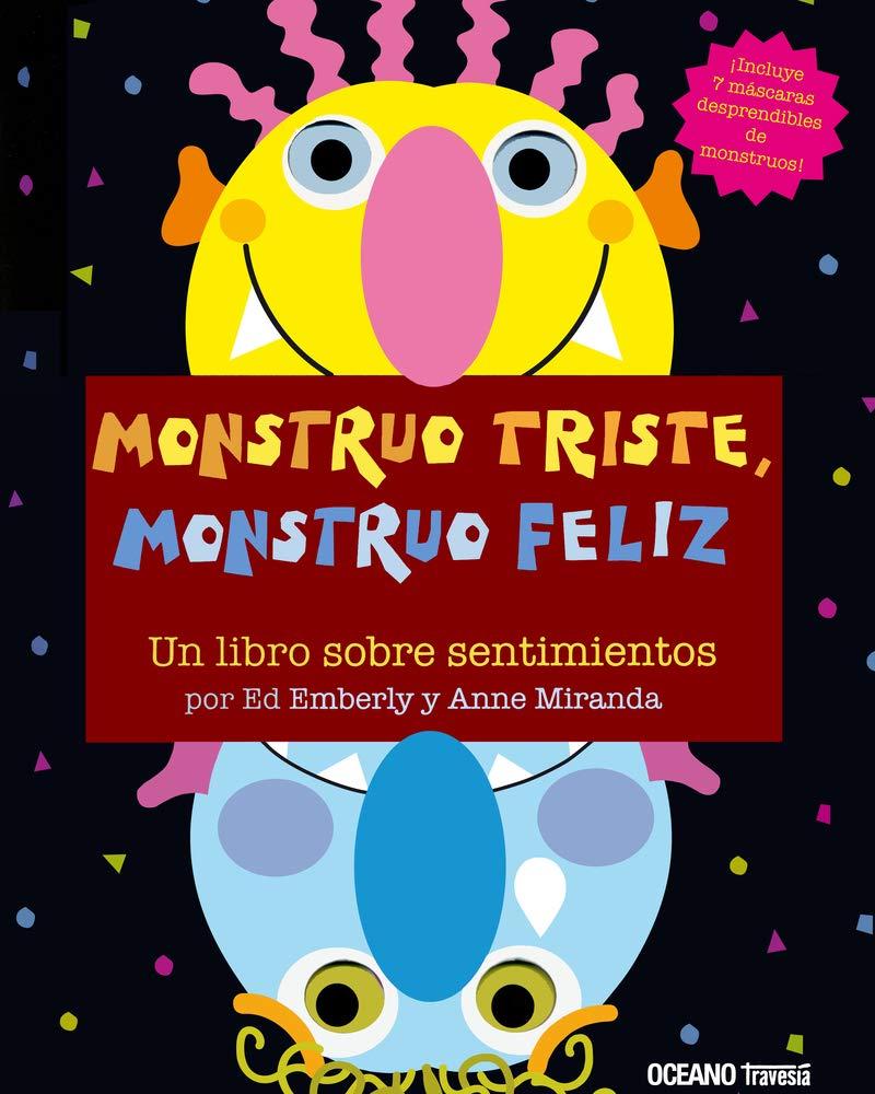 Libros Monstruo Triste ... Monstruo Feliz