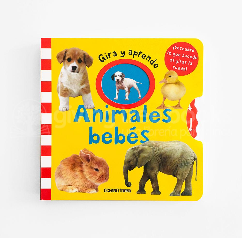 Animales Bebes Gira y Aprende