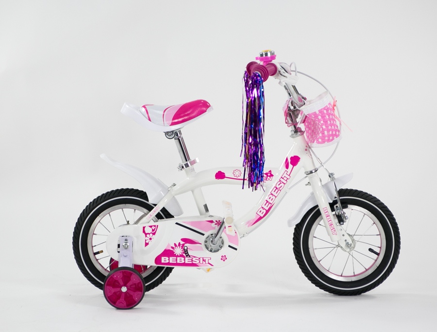 BEBESIT Bicicleta Queen rodado 12 Blanca