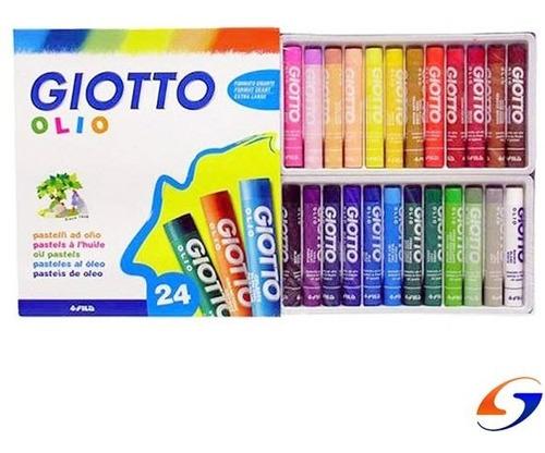 Giotto Oleo Pastel x24
