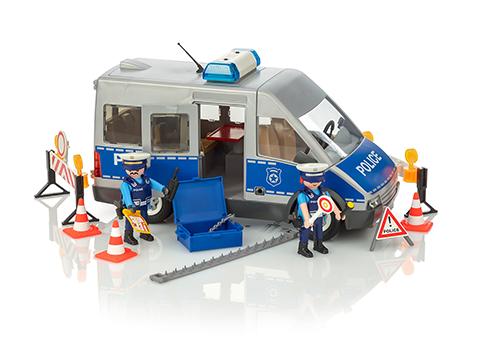 PLAYMOBIL Furgón Policía con Conductor