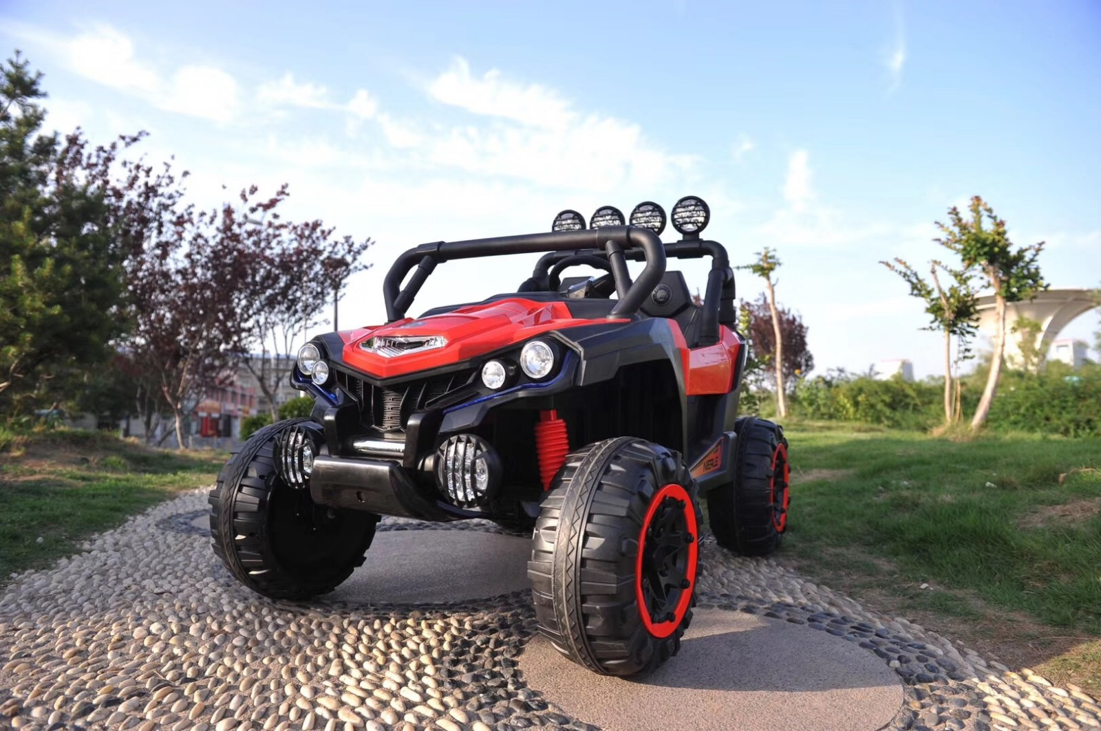BEBESIT Jeep Polaris Rojo
