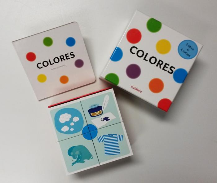 Libro Colores la Galera