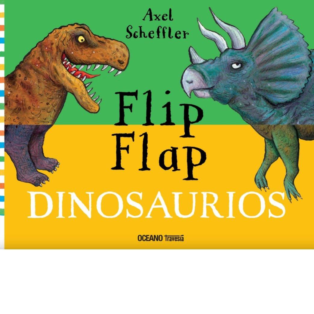 Libros Flip Flap Dinosaurios