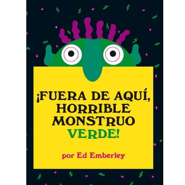 Libro Fuera de Aqui Horrible Monstruo