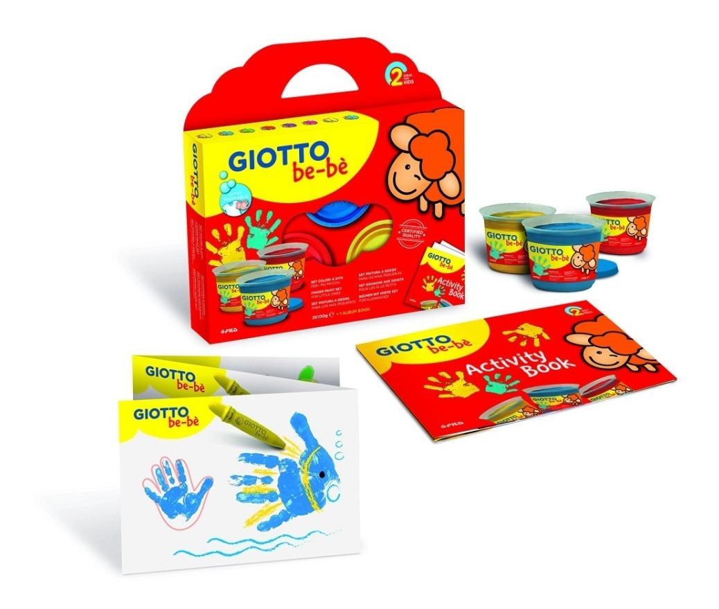 Giotto Pintura p/Dedos Bebe