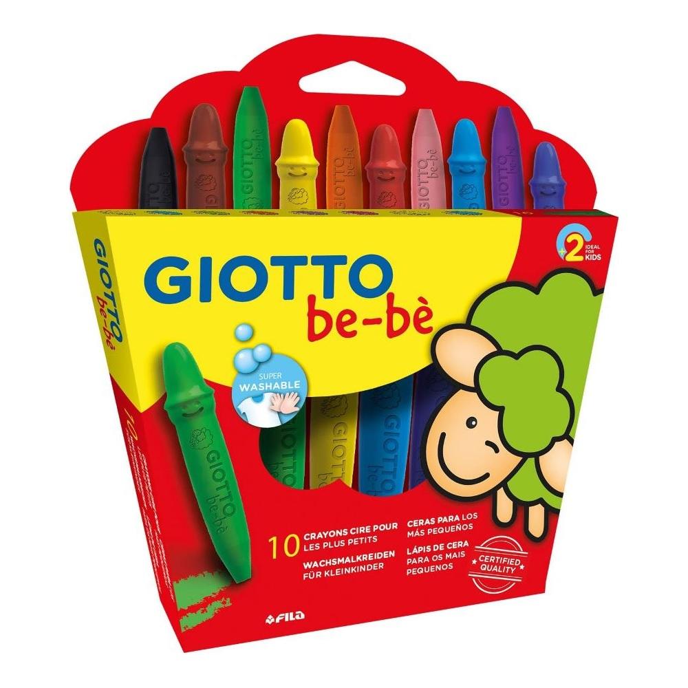 Giotto Crayon Bebe x10