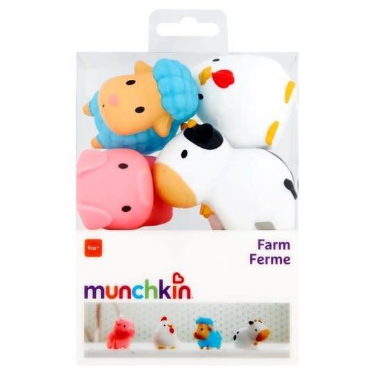 Munchkin Squirters Animales de la Granja 4 pk