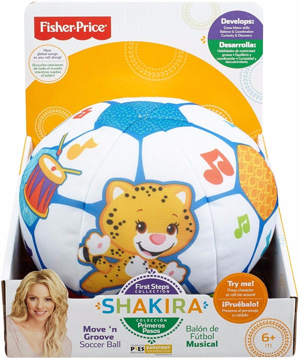 FISHER PRICE Shakira Pelota de Fútbol