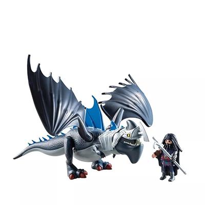 PLAYMOBIL Drago y Dragón con Armadura