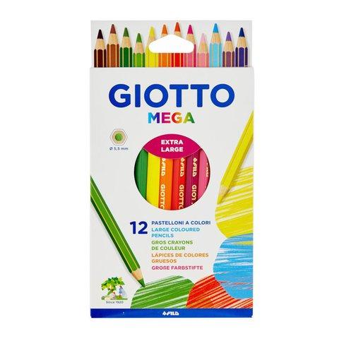 Giotto Lápiz Colores Mega x12