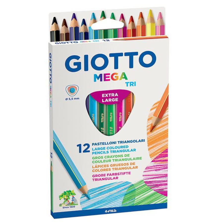 Giotto Lápiz Colores Mega Tri x12