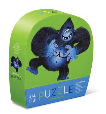 crocodile creek mini puzle 12pz gorila